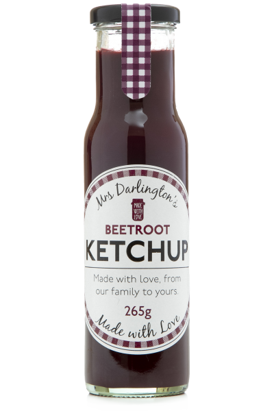 MRS DARLINGTON Rote Bete Ketchup 265g